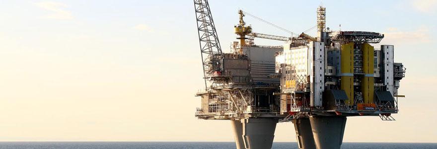 construction des plateformes pétrolières