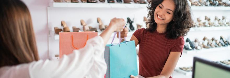 Choisir un présentoir magasin et commerce